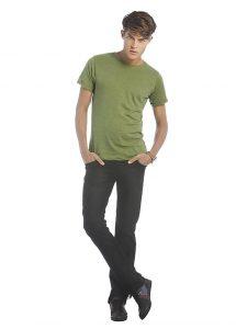 T-shirt homme vintage manches courtes