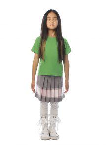 T-shirt fille écolier