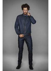Veste denim homme