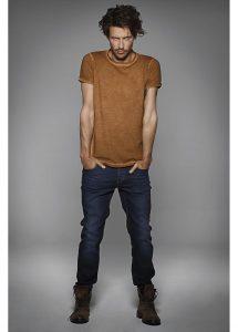 T-shirt denim homme festival musique et spectacle