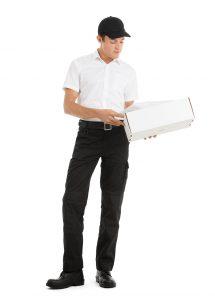 Chemise manches courtes pour livreur